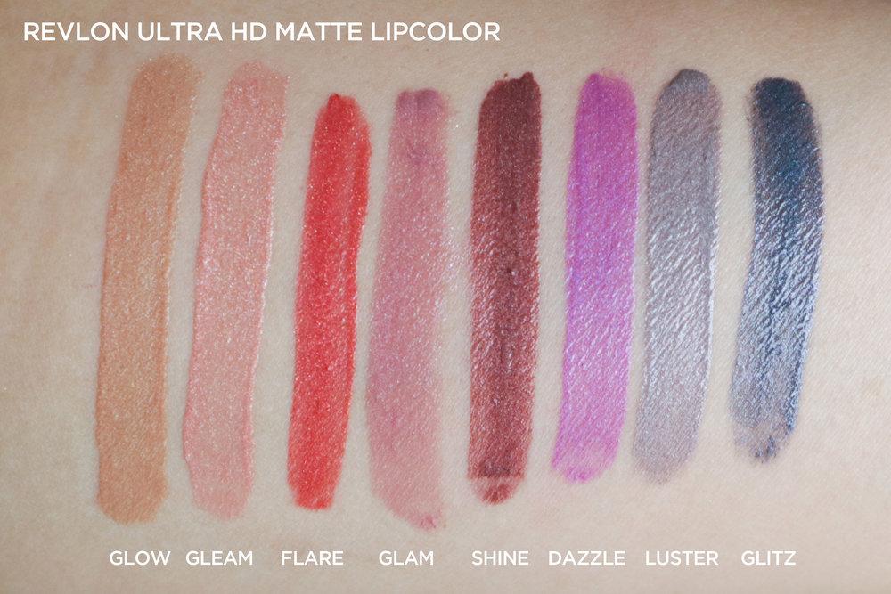 Ultra HD Matte Lipcolor by Revlon #8