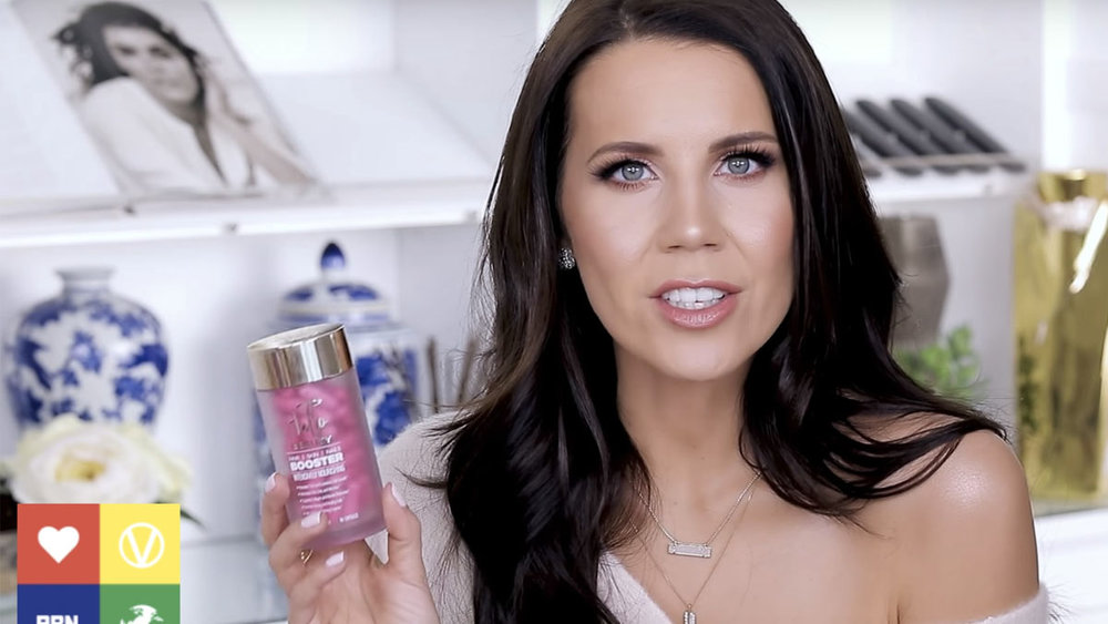 Screencap of GlamLifeGuru video