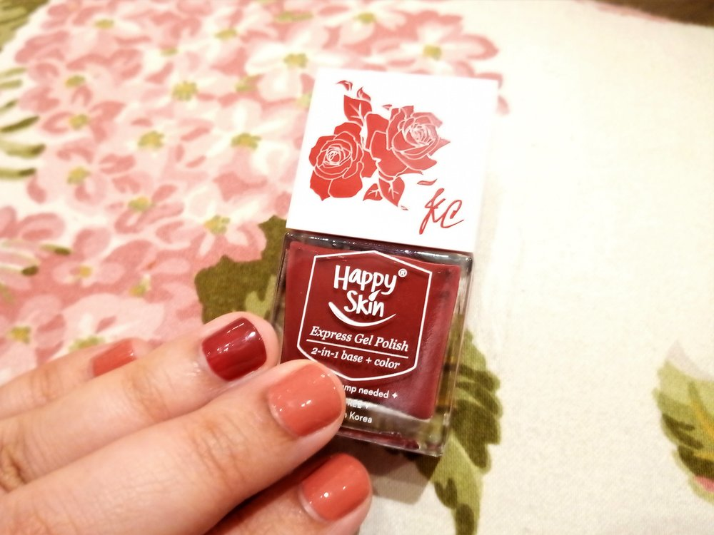 #HappySkinxKC Express Gel Polish in  Power