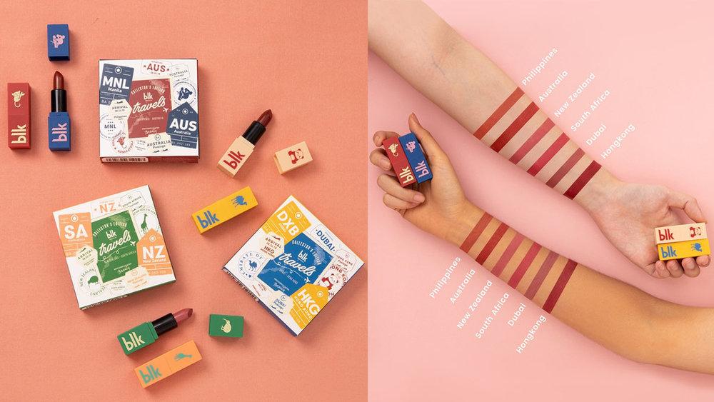 Images via blk Cosmetics