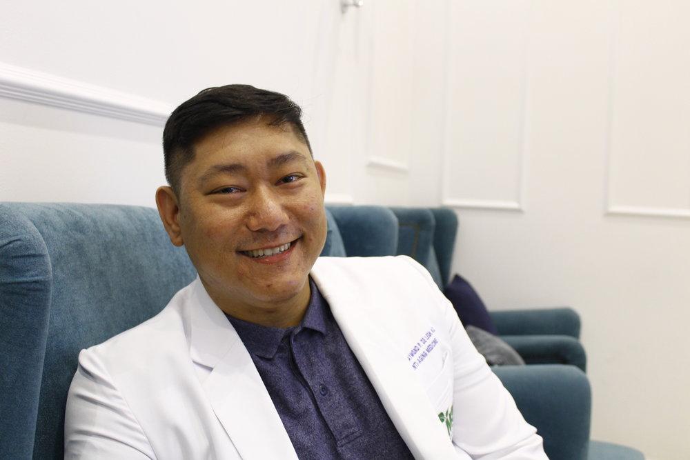 Dr. Joseph De Leon, head of CocktailsMD