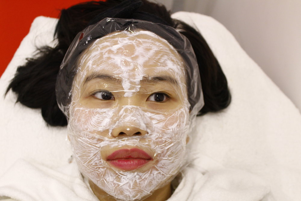 Getting local anesthesia on my face