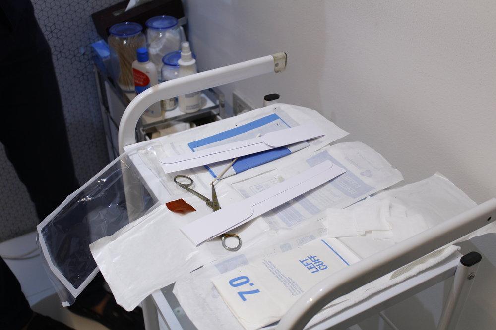 Needles for the Happy Lift treatment