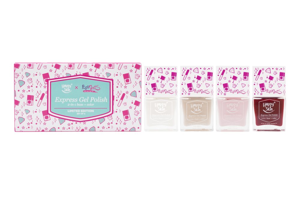 Happy Skin x Posh Nails Limited Edition Set