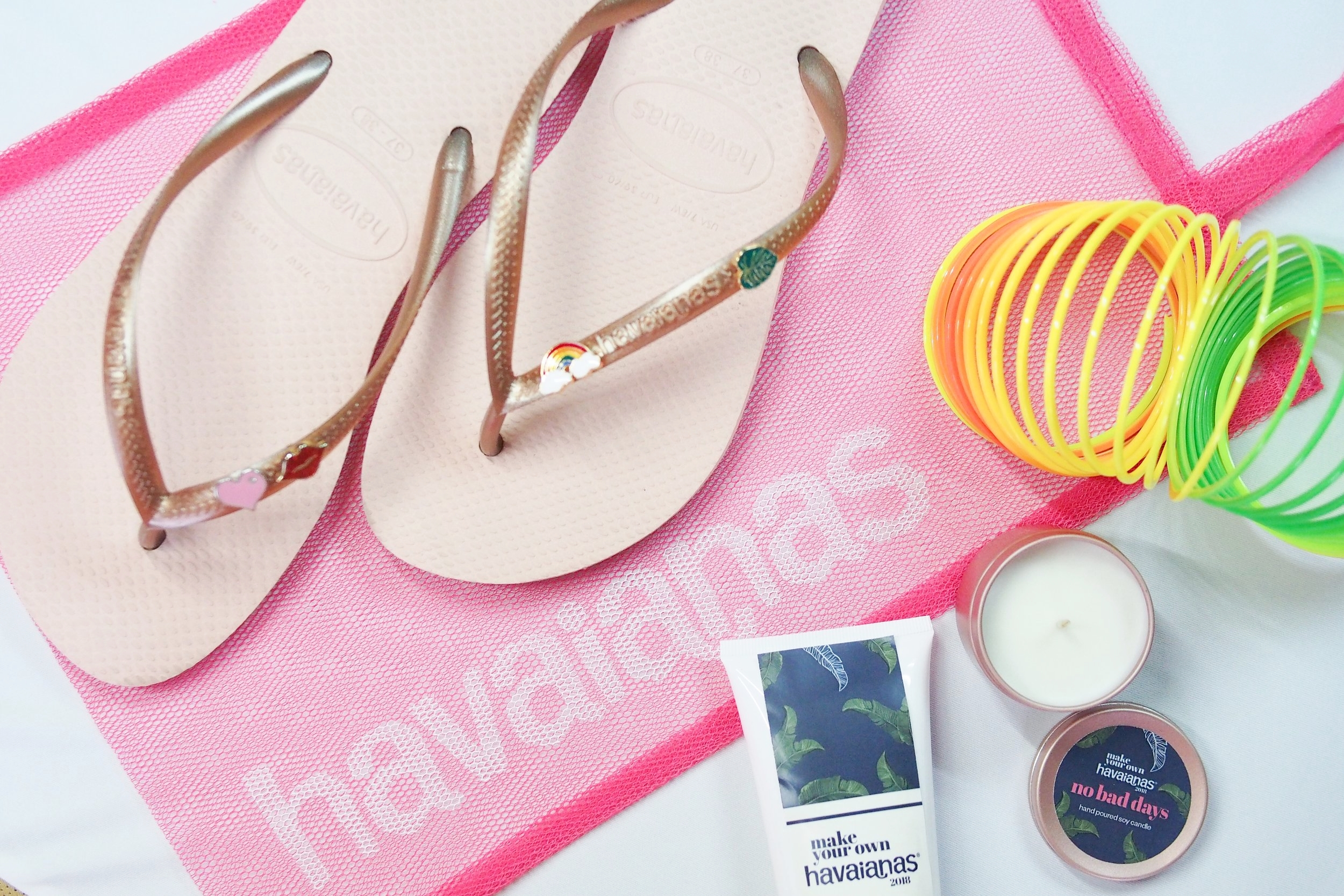 22f31f4c2 I got the cutest flipflops at the Make Your Own Havaianas 2018 event ...