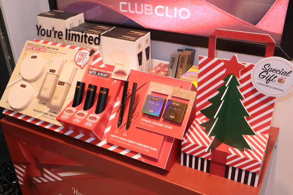 Some exclusive deals at the Club Clio Flagship Store in Robinsons Galleria