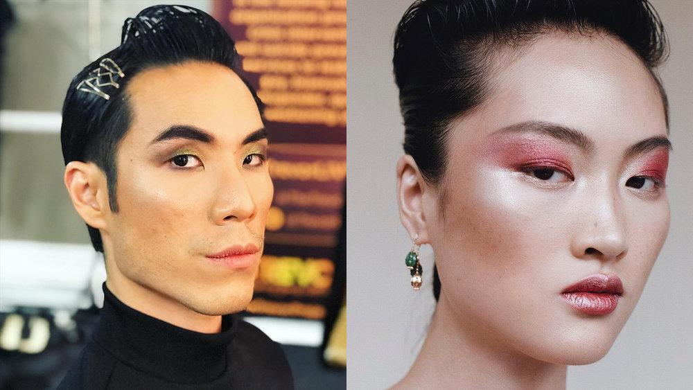 Eugene Lee Yang by Beautybarkatt and Charlotte Tilbury on Instagram
