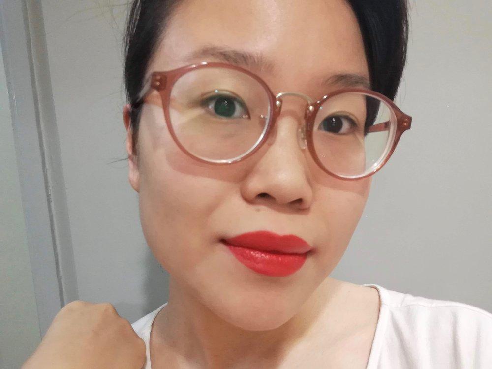 VisionAiry Gel Lipstick in  Firecracker