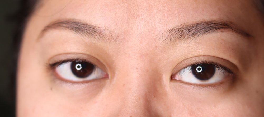 The K-Palette Lasting Eyebrow Tint Pen, after cleansing oil and facial wash