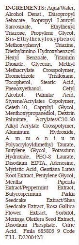 Kiehls Ultra Light Daily UV Defense Aqua Gel SPF 50 Label.jpg