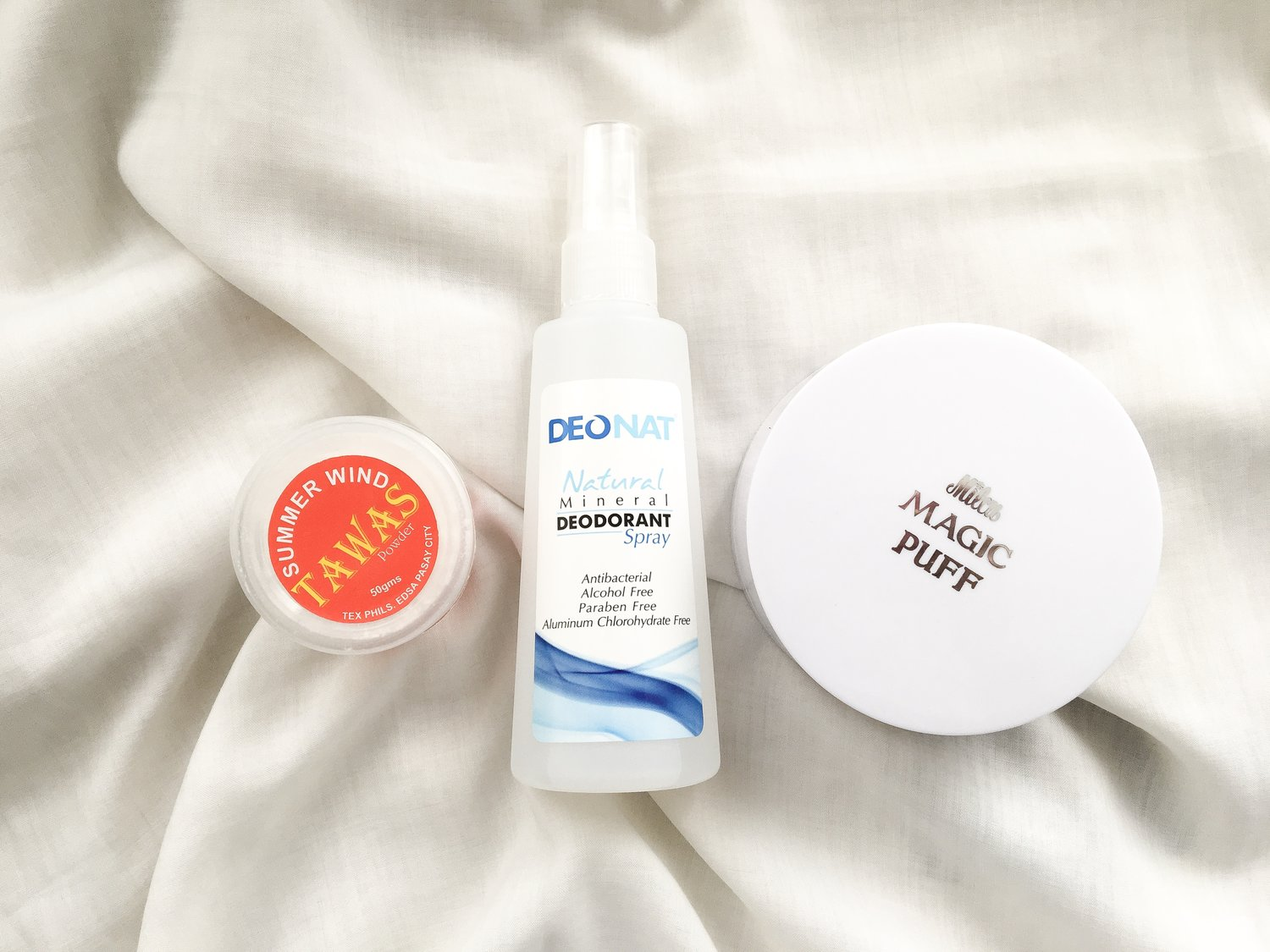 The Tawas Test: We compare three popular anti-sweat products
