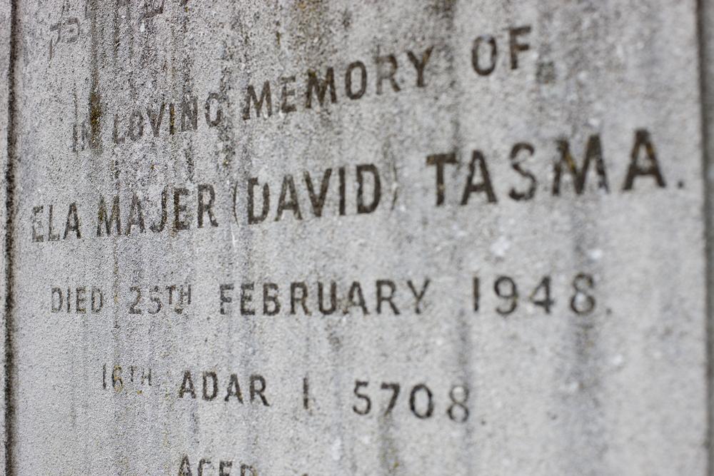 David Tasma's Gravestone