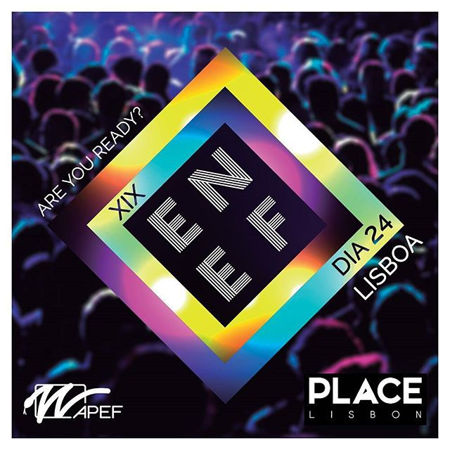 Are you ready, Lisboa? É já amanhã a primeira festa de promoção do XIX ENEF no Place! Prepara-te, porque a noite promete! Compra a tua pulseira junto do teu núcleo/associação e junta-te a nós para celebrarmos o famoso espírito do ENEF!  ENEF is coming to get you... Be ready! #XIXENEF #ENEF2017