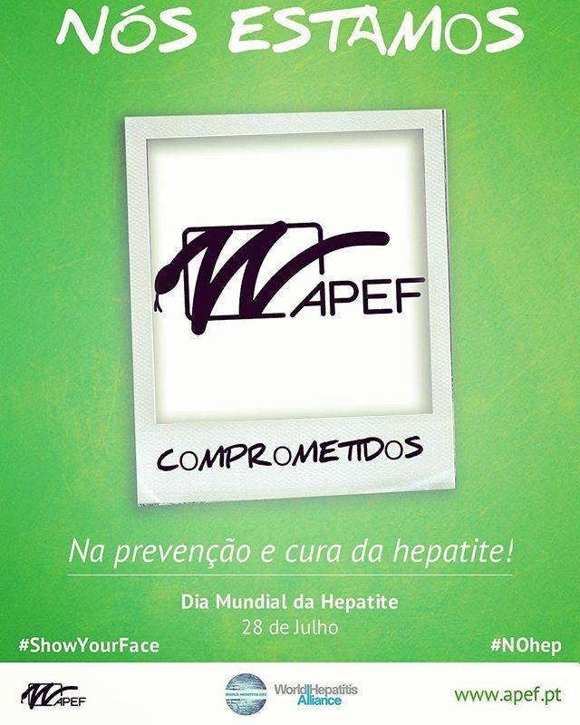 E tu também estás?! Dia Mundial das Hepatites  #nohep