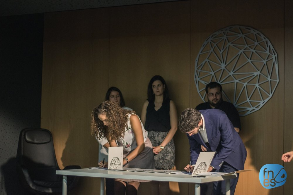Assinatura do Memorando de Entendimento e Carta de Princípios
