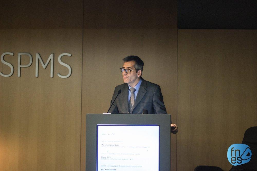 Henrique Martins, Presidente do Conselho de Administração da SPMS, EPE.