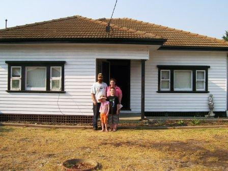 Geraldine and Robbie - Norlane Family onto their way into Home Ownership