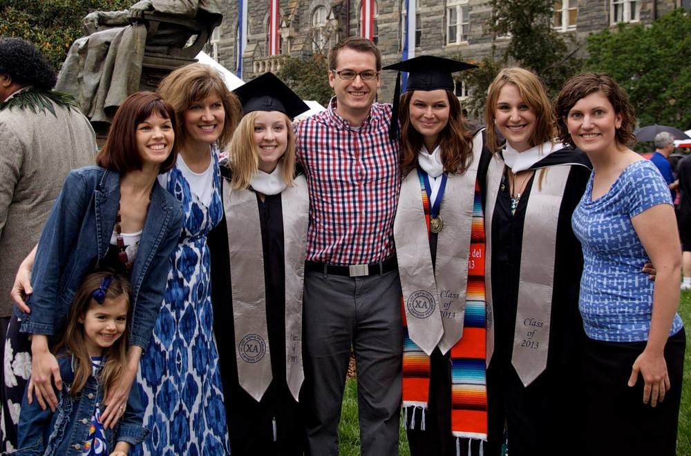 Karen & Jon - Georgetown Graduation, Spring 2013