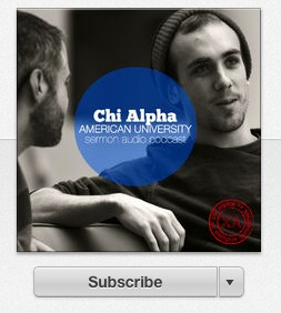 American University  Chi Alpha » Podcast