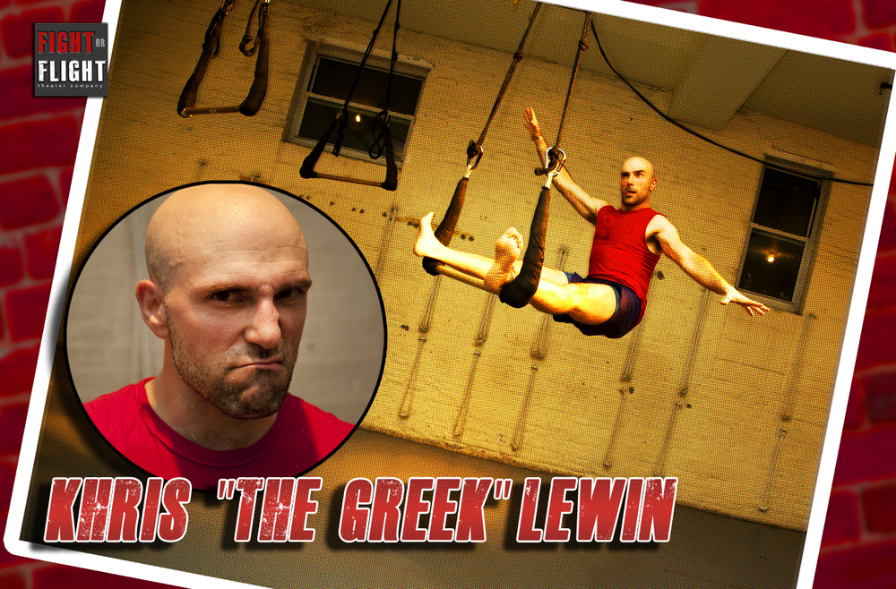 "KHRIS ""THE GREEK"" LEWIN"