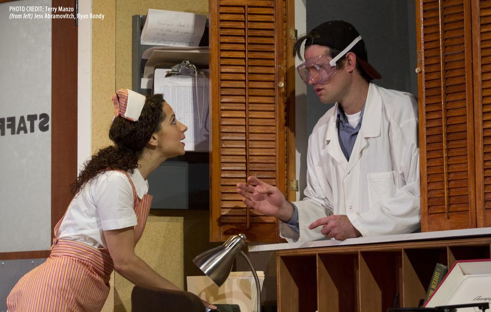 Jess Abramovitch as Patsy, Ryan Bondy as Wilf