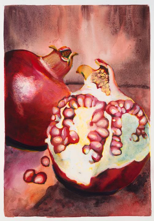 Pink Pomegranate