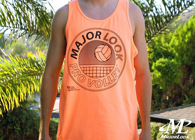 The Pro Volley tank is back from retirement! Inspired by the tanktop worn by Zack Morris during a high stakes beach volleyball game against Malibu Sands' rival hotel (Saved by the Bell- season 3, episode 4). Summer '16 is available tonight at 9:00 pm EST in our online store.