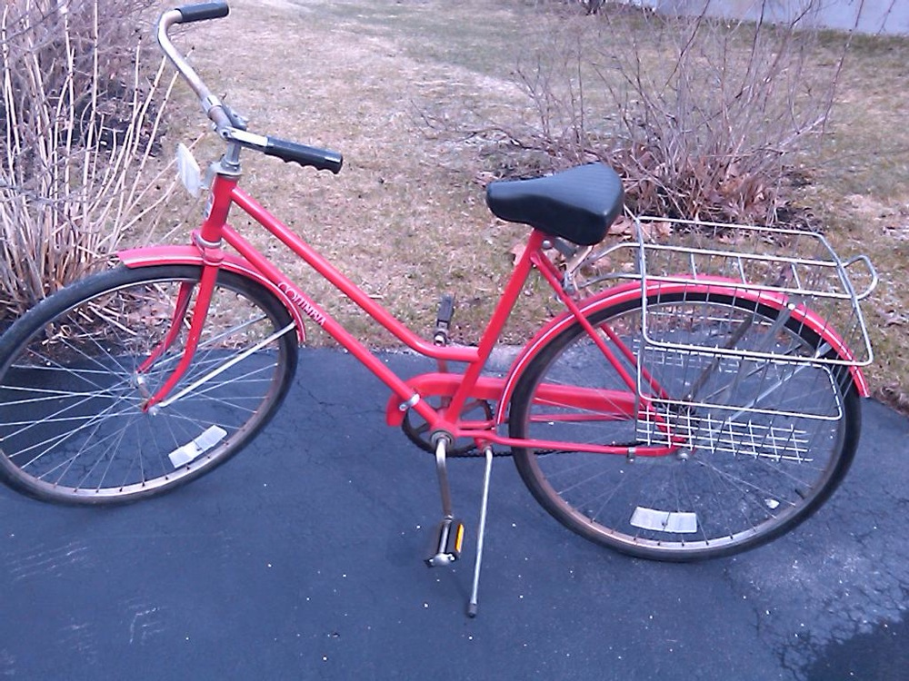 Red Vintage Girls Bike.jpg