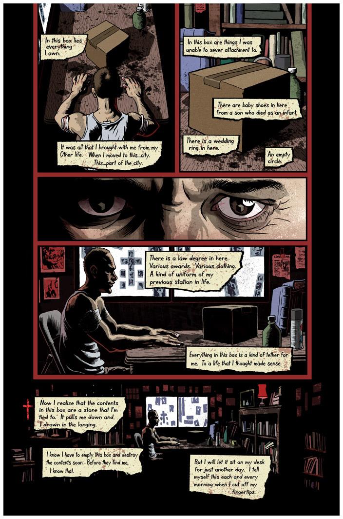 Se7en Comic Book