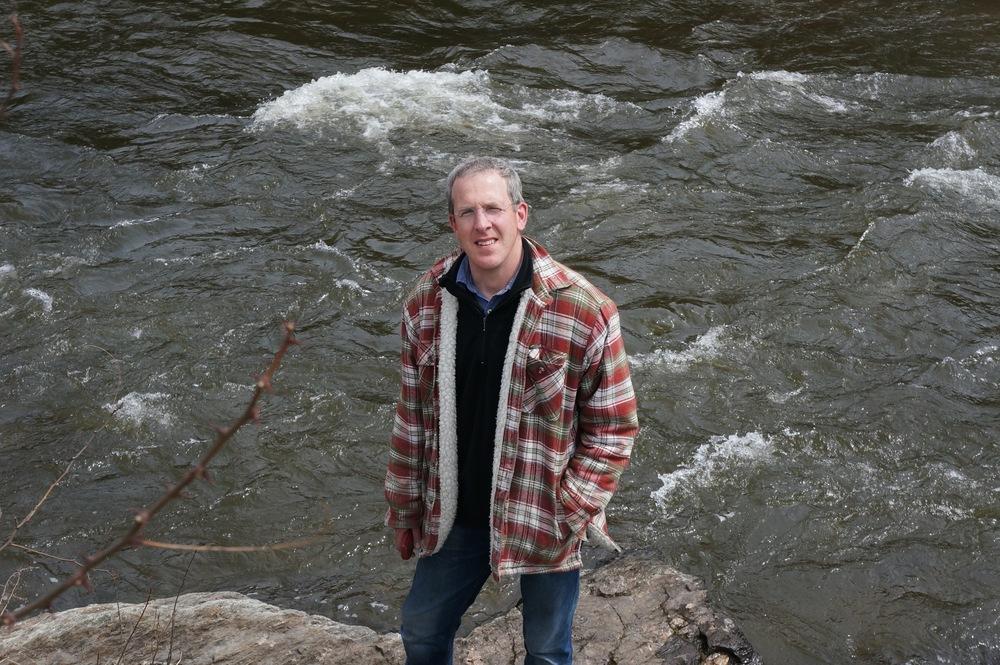 The artist in Vermont 2013
