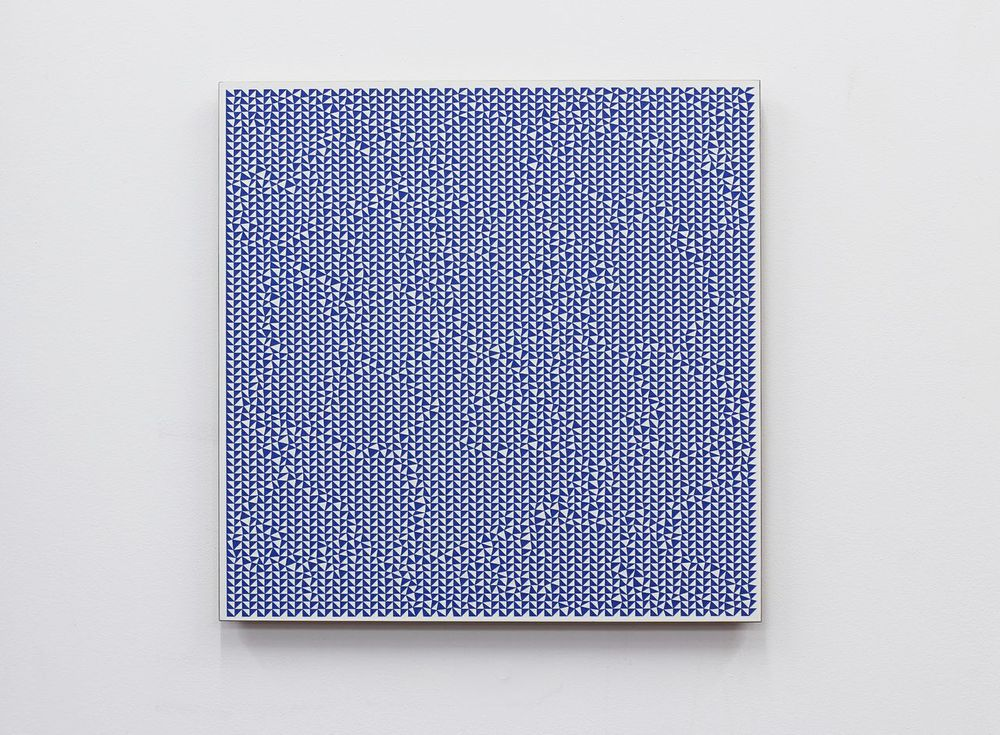 Giulia Ricci, Order/Disruption 2012, Laser engraved painting