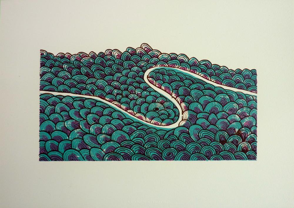 Passage 2010 (image size 12x21cm)