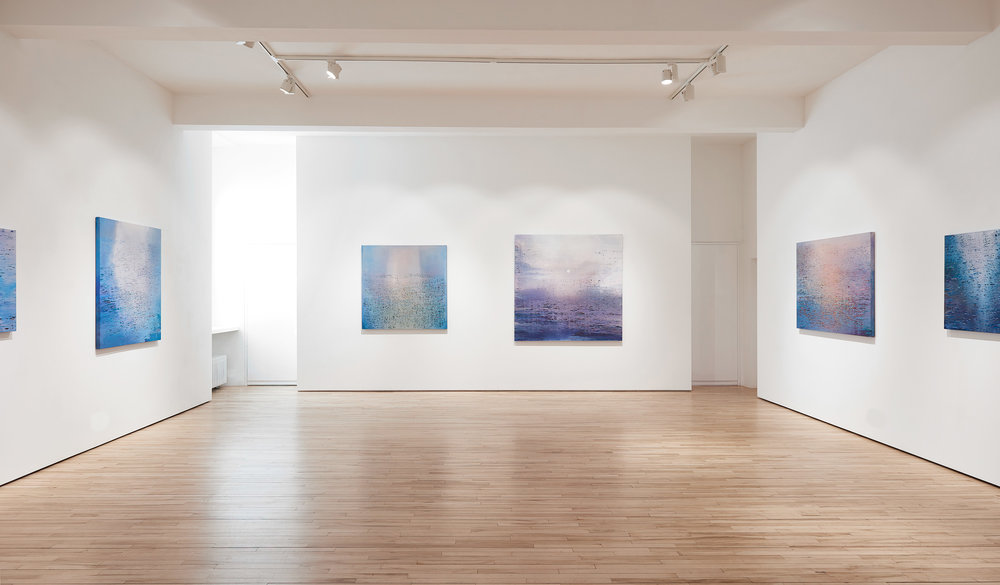 Luke Elwes, 2018, Paintings from the Ganges at the Frestonian Gallery CREDIT: FRESTONIAN GALLERY