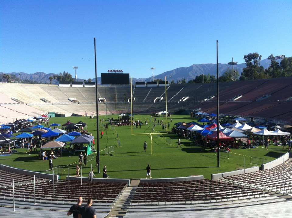 2012 WOD Gear Crossfit Games at The Rose Bowl