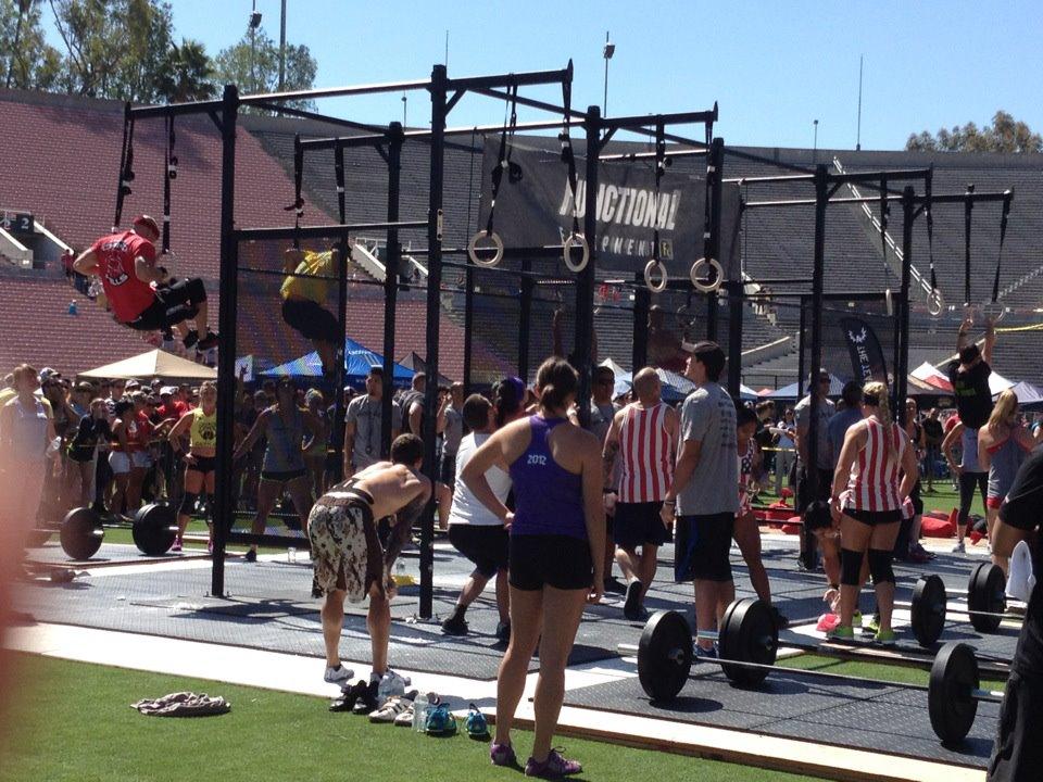 2012 WOD CrossFit Games. Pasadena, CA