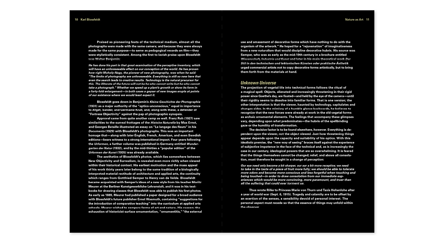 Interior Text Spread