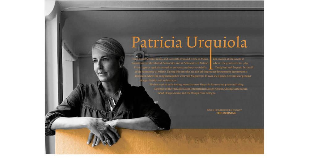 About Patricia Urquiola Spread