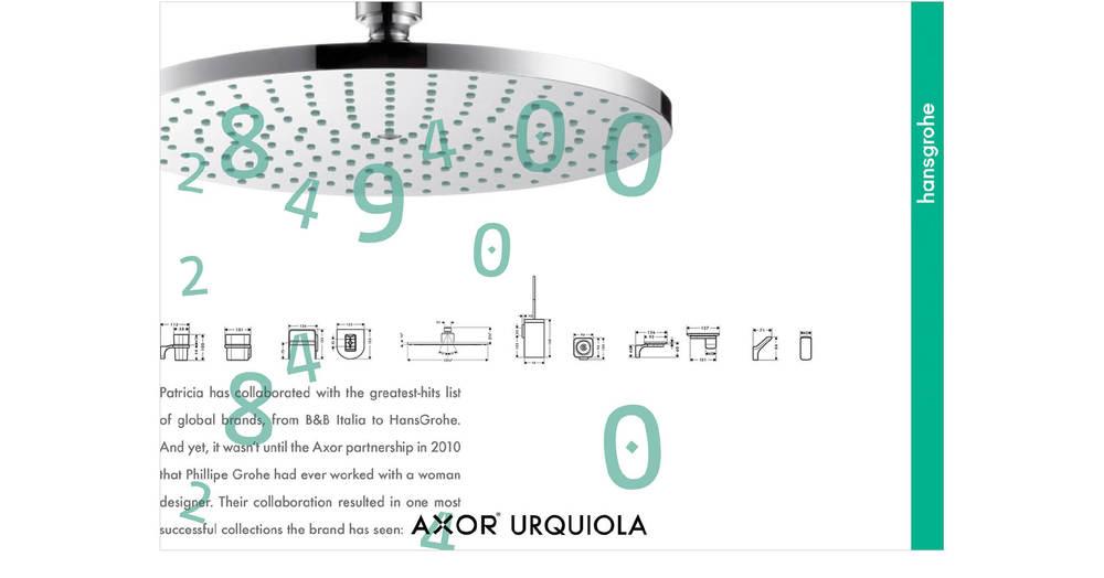 Hansgrohe: Axor Urquiola Spread