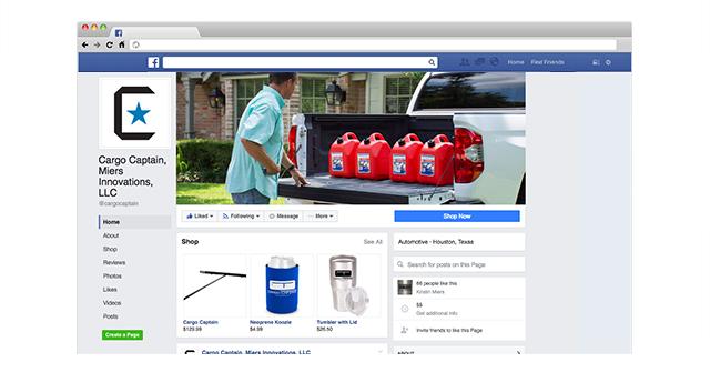 Cargo Captain Business Facebook Page