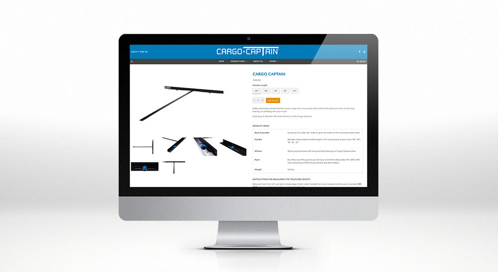 Cargo Captain Product Page