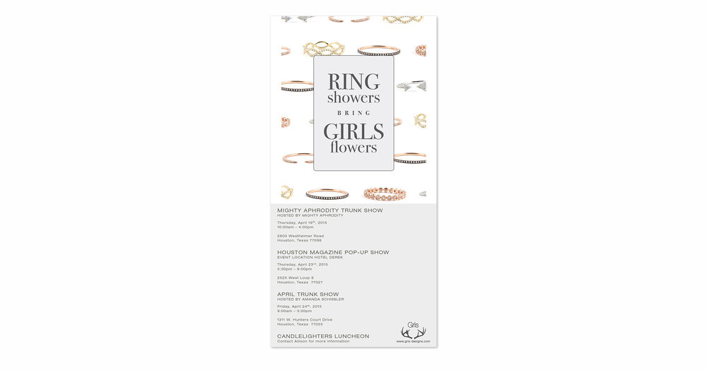 Ring Showers Bring Girls Flowers 2015 Email Campaign