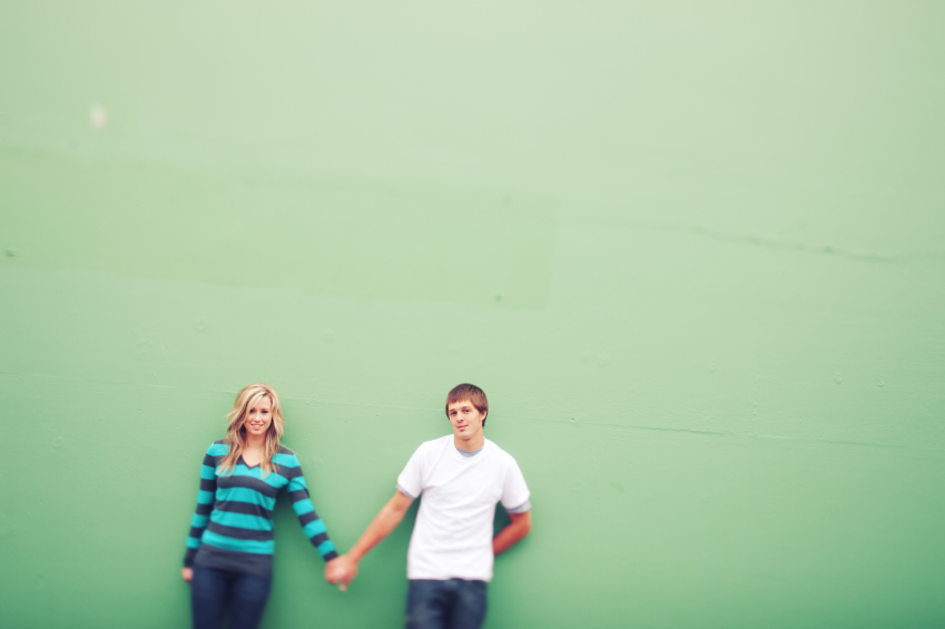 Couple against Green Wall.jpg