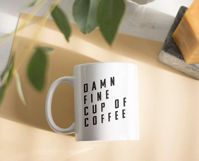 That's a damn fine cup of coffee! A mug to make your day extra brewtiful (did I mention I love puns?) ☕