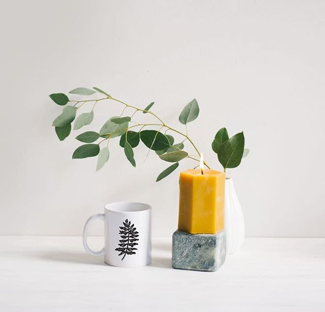 Friday's coffee tastes pretty freaking delicious. 🌿 Fern mugs up in the shop!