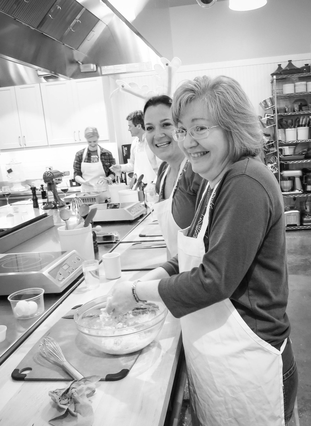Lori Brandon and Melissa Troxel Make Pasta
