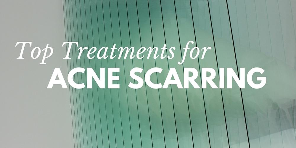 top treatments for acne scarring