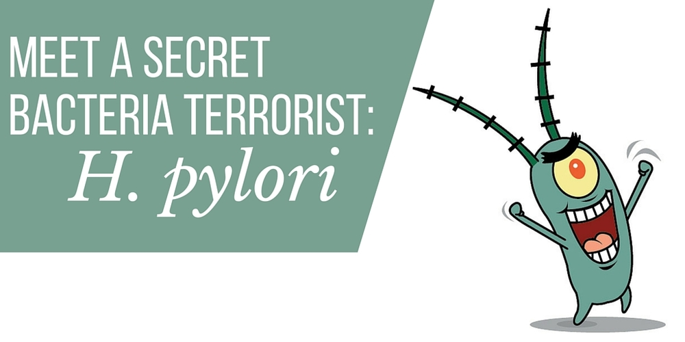 meet a secret bacteria terrorist: h pylori