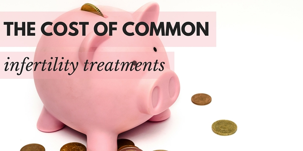 The cost of common infertility treatments