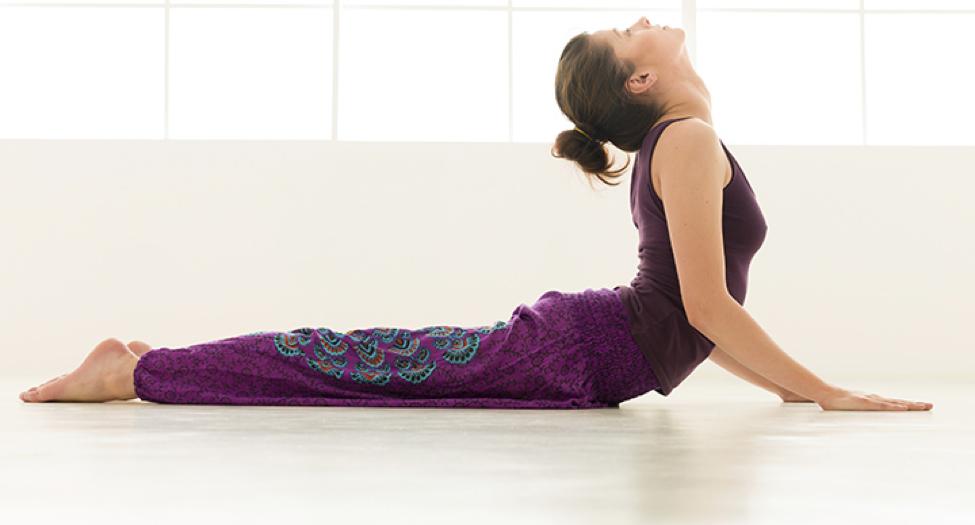 fertility yoga positions