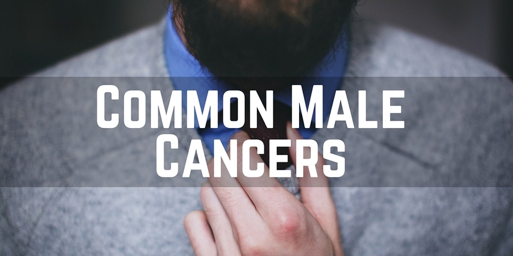 The most common male cancers, prostate cancer